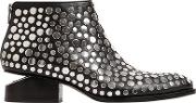 35mm Kori Studded Leather Bootie