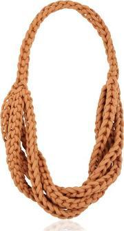 Braided Cotton Rope Necklace