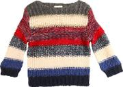 Tricot Wool & Mohair Blend Sweater