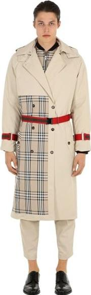Patchwork Trench Coat