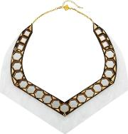 Ivory Collection Mirror Necklace