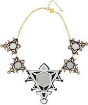Ivory Collection Triangles Necklace