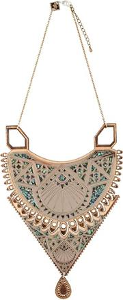 Maha Wooden Necklace