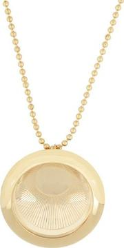 Ancient Moon Medallion Necklace