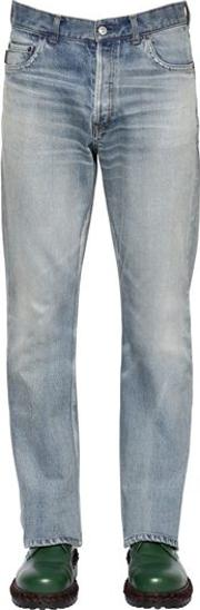 20cm Bootcut Cotton Denim Jeans