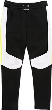 Two Tone Cotton Sweatpants