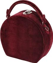 Bertoncina Velvet Top Handle Bag