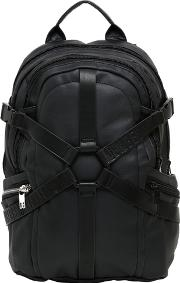 Harness Waxed Cotton Canvas Backpack