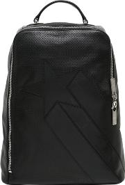Perforated Leather Backpack