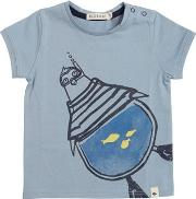 Penguin Printed Cotton Jersey T Shirt