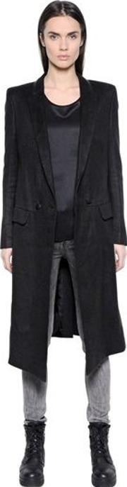 Coat 27 In Hemp Fabric