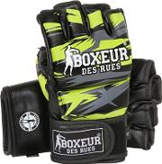 Geometric Synthetic Mma Gloves