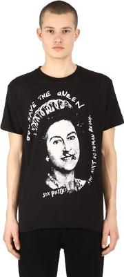 God Save The Queen Jersey T Shirt