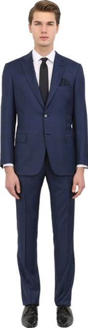 Micro Textured Super 150's Wool Suit