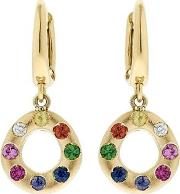 Flow Midnight Rainbow Drop Earrings
