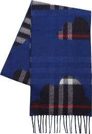 Check Doubled Cashmere Scarf