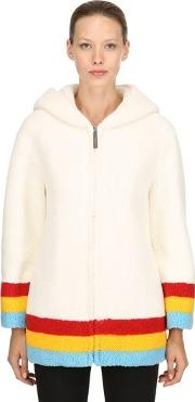 Craven Hooded Terrycloth Coat