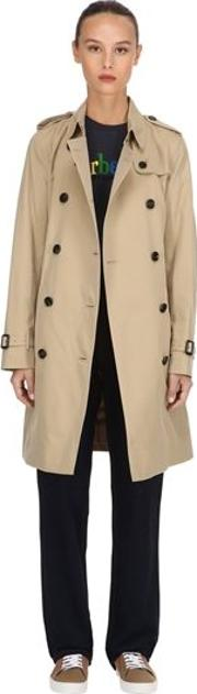 Kensington Long Cotton Trench Coat