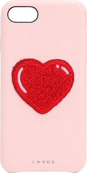 Heart Leather Iphone 78 Cover