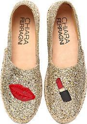 30mm make up glitter espadrilles
