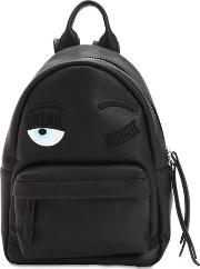 Flirting Faux Leather Backpack