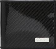 Carbon Fiber Effect Leather Wallet