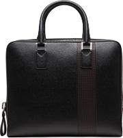 Classic Racing Leather Briefcase