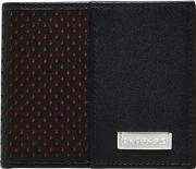Mini Perforated Leather Classic Wallet