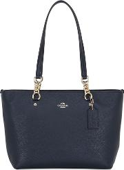 Sophia Small Leather Tote Bag