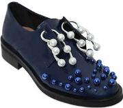 20mm Martina Leather Piercing Shoes