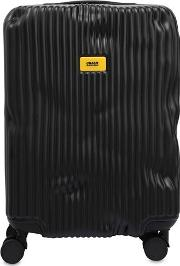 40l 4 Wheel Stripe Carry On Trolley