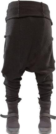 Program Baggy Boiled Wool Pants