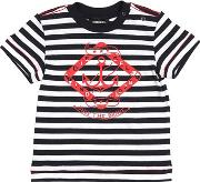 Anchor Printed Cotton Jersey T Shirt