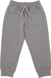 Cotton Sweatpants W Logo Detail
