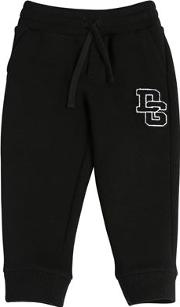 Dg Patch Cotton Sweatpants