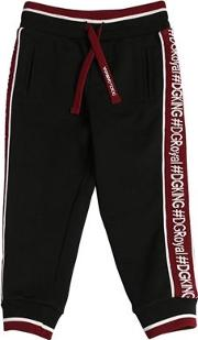 Logo Bands Cotton Sweatpants