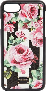 Rose Printed Leather Iphone 7 Cover