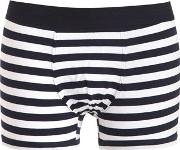 Striped Cotton Jersey Boxer Briefs