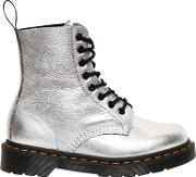 30mm Pascal Metallic Leather Boots