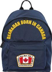 Canada Nylon Canvas Backpack