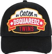 Caten Twins Patch Cotton Baseball Hat
