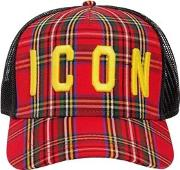 Icon Mesh Canvas Baseball Hat