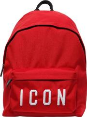 Icon Patches Nylon Canvas Backpack