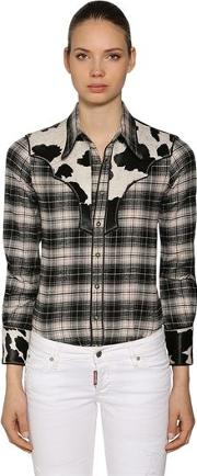 Rodeo Cotton Plaid Shirt