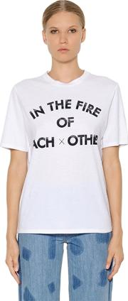 In The Fire Cotton Jersey T Shirt