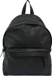 24l Pak'r Padded Leather Backpack