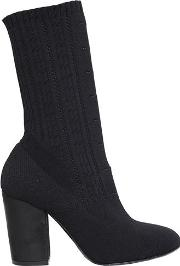 90mm Stretch Knit Sock Ankle Boots