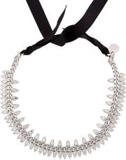 Brilliant Jewelry Spike Crystal Necklace
