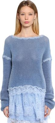 Lace & Cashmere Sweater