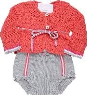 Handmade Cotton Tricot Cardigancoulotte